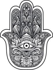 Hamsa or hand of Fatima