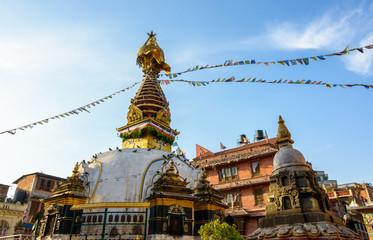 Kathesimbhu stupa in Kathmandu, Nepal