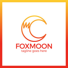 Fox Moon Logo - Letter C.