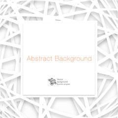 Abstract Vector Background #White Mesh