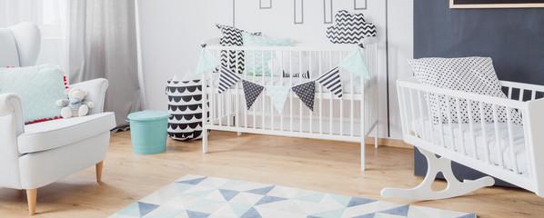 Baby boy bedroom idea