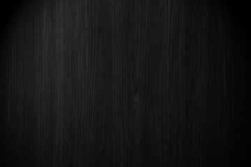 black background wood texture.