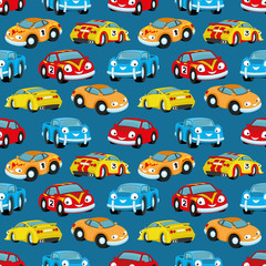 Cute colorful cars.