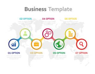 Vector illustration infographics. Template for brochure, business, web design