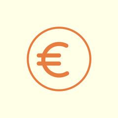 euro line icon