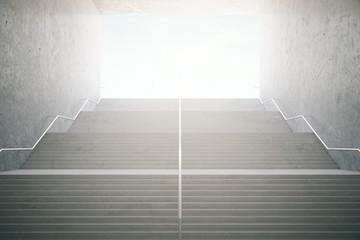 Foto op Plexiglas Trappen Success stairs