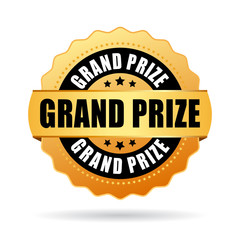 Grand prize gold seal