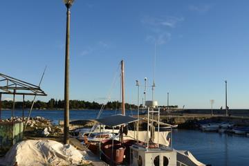 Hafen, Strand, Lovrecica, Fischerhafen, Fischerboot, Boot, Schiff, Umag