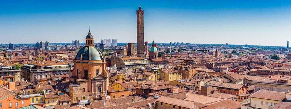 cityscape of Bologna