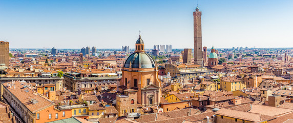 cityscape of Bologna Fotomurales