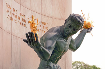 Spirit of Detroit Denkmal, Detroit
