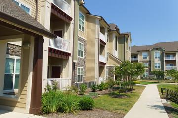 Suburban apartment compex