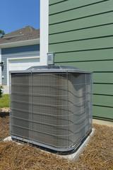 Residential air conditioner compressor unit