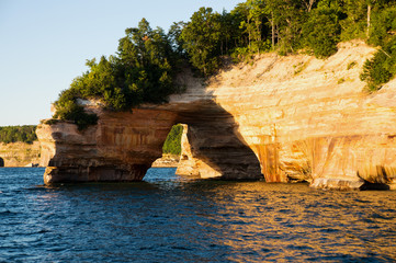 Lovers Leap at Pictured Rocks National Lakeshore