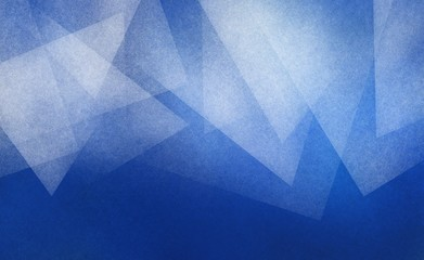 blue background with abstract white triangle layers with texture in pretty top border pattern