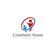 Business logo design teamwork concept
