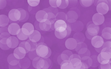 Abstract glowing circles on a purple background