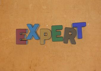 Expert, 3D, Typography
