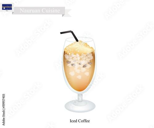 """Iced Coffee, A Popular Drink in Nauru"""" Imágenes de archivo y ..."""