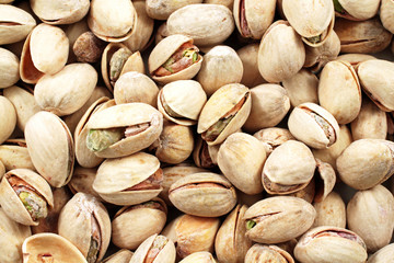 Pistachio Nuts Close Up