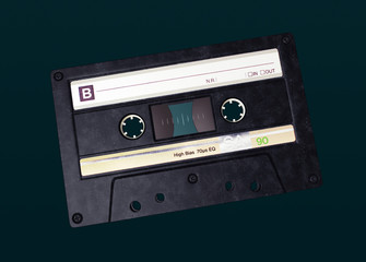 Cassette, Music, Typography, 3D
