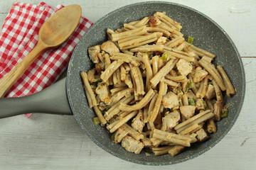 poêlée de pâtes 06092016