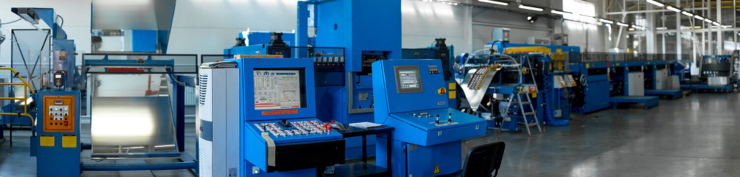 conveyor for cutting sheet metal, shop for metal drawing, conveyor metal sheets