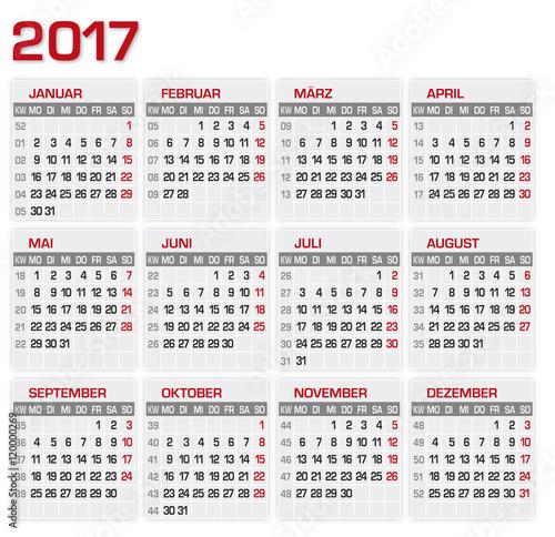Kalender 2018 Med Veckor