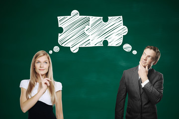 Partnership and teamwork concept