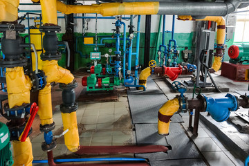 Industrial pipe lines