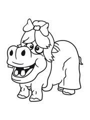 woman girl female cute dress bow hair beautiful girl sweet little cute baby hippo happy child