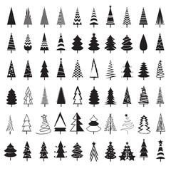 tree christmas icon, Vector illustration