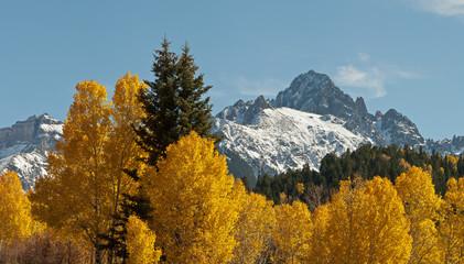 Mount Sneffels Autumn Panorama