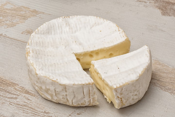 Camembert cheese of Normandy