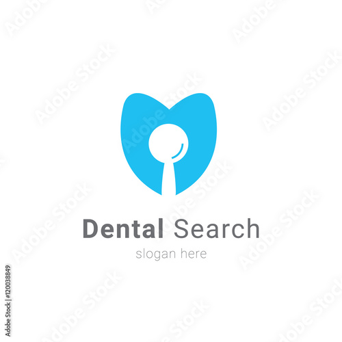 tooth dental logo designu0026quot; Stock image and royalty-free vector files ...