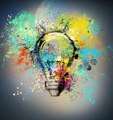 Fototapete - New creative idea