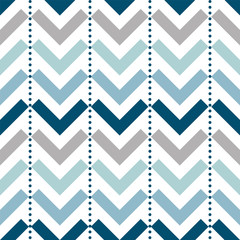 Seamless chevron pattern in vector design