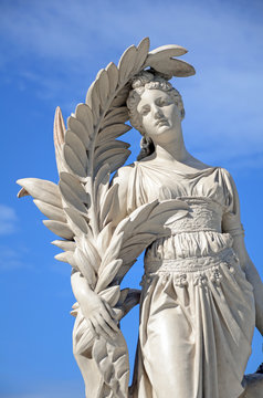 Old Roman Style Statue.