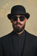 Gentleman with Bowler Hat