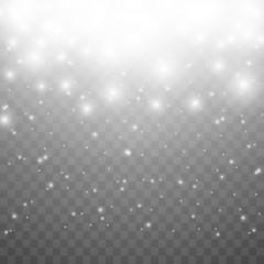 Lights on transparent background.