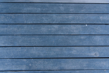 Wooden Blue Old Background