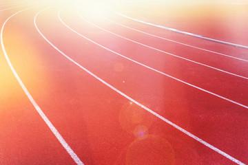 running track, sport field.