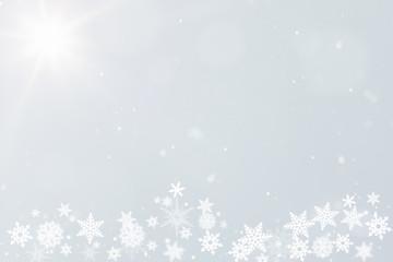 Winter Hintergrund für Postkarte