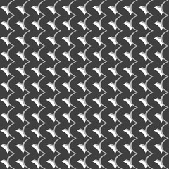 Pattern with wavy, billowy intersecting lines. Grid of irregular