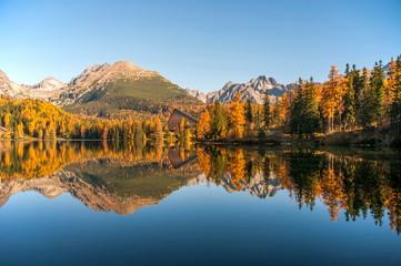 Fototapeta Szczyrbskie Pleso Tatra Mountains Slovakia ( Štrbské pleso )