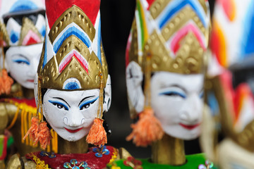 Indonesia, Bali, Traditional puppet