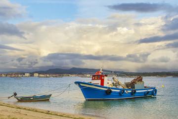 Mussel aquaculture dinghy