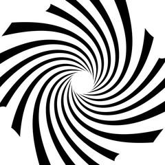 Circular radial linese geometric pattern. Converging - radiating