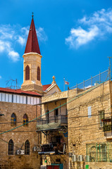 The Franciscan Terra Sancta Church in Akko
