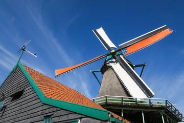 Windmühlen in der Nähe von Amsterdam